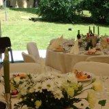 Wystrój stołów weselnych