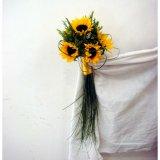 Ślubne słoneczne słoneczniki