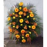 Wieniec pomarańczowo- żółty