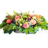 Koszyk pastelowch kwiatów