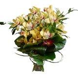 Elegacki bukiet z orchideą