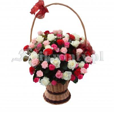Super Kosze kwiatowe, delikatesowe, owocowe z dostawą we Wrocławiu YS42