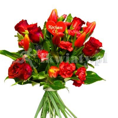 internetowa kwiaciarnia wrocław urodziny jubilat róże bukiety z